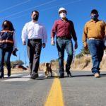 Inauguran reencarpetamiento de carretera El Orito – Cieneguillas
